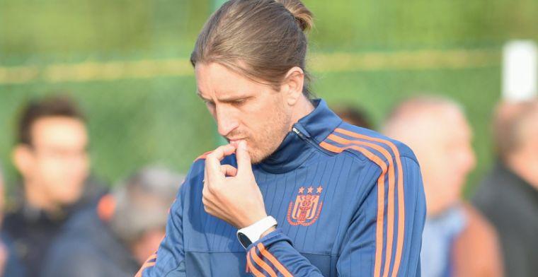 Frutos lacht: Ik hoop dat hij veel doelpunten maakt, behalve zaterdag dan!