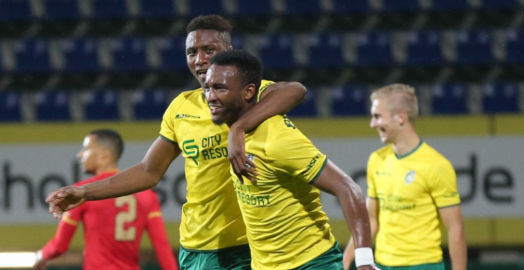 Tweede koploper meldt zich in Jupiler League na doelpuntenregen in Sittard