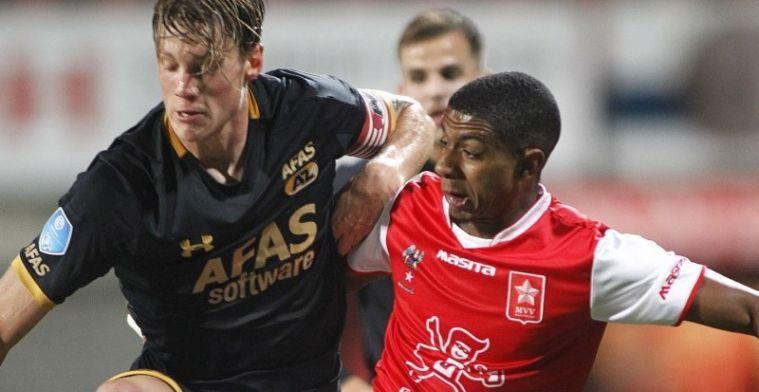 Eredivisie-topscorer oogst lof: 'Geweldige spits, hij maakt ook echt mooie goals'