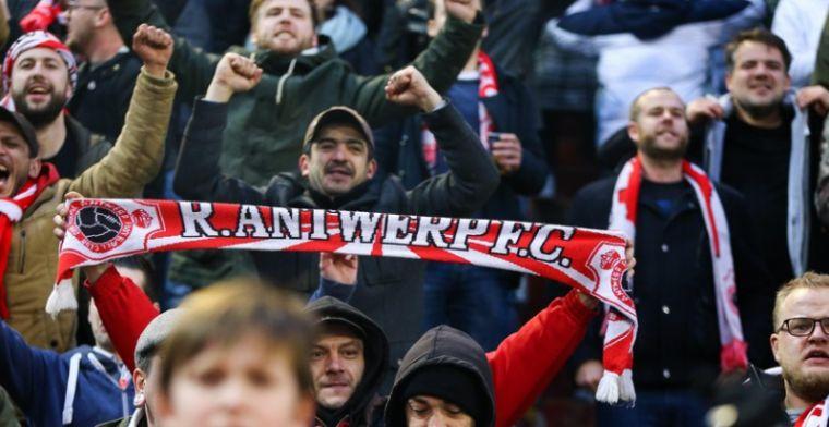 Kortrijk- en Antwerp-supporters slaan de handen dan toch niet in elkaar