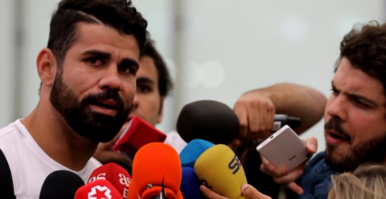 Costa sneert op vliegveld nog een keer naar Conte: 'Eén persoon kan dat niet'