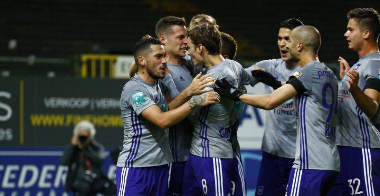 Dodelijk efficient Anderlecht pakt driepunter na belabberde match