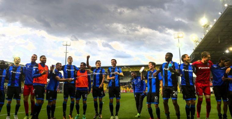 'Club Brugge krijgt stevige opsteker te horen voor de topper tegen Charleroi'