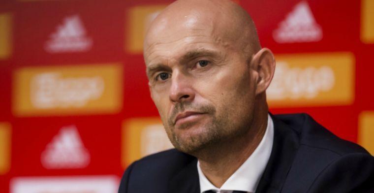 'Ajax zou daar gebaat bij zijn, dan kun je zowel Huntelaar als Dolberg goed kwijt'
