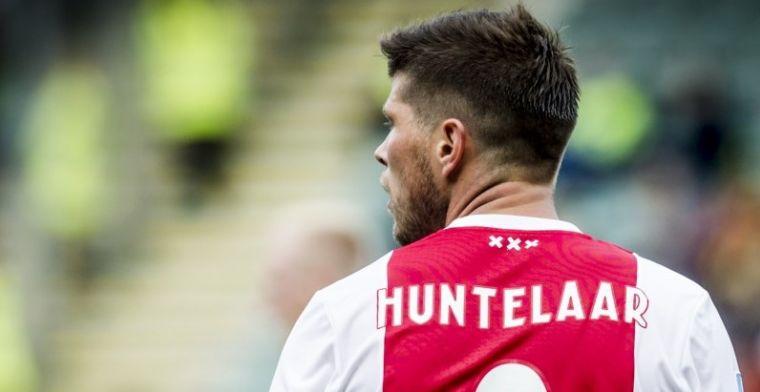 'Oude man' Huntelaar over talentvol Ajax-vijftal: 'Ze kunnen nog zoveel beter'