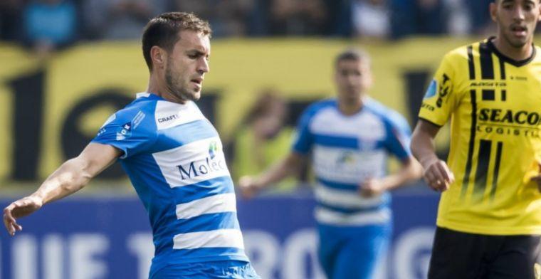 Materiaalman van PEC Zwolle blundert: Die zal wel gezopen hebben gisteren