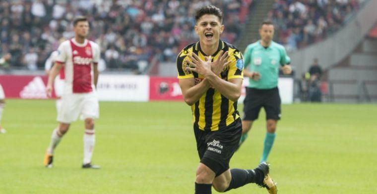 Vitesse-held vijzelt waarde op: 'We zien wel als de transfermarkt open gaat'