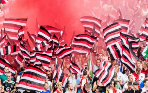 Afbeelding: Feyenoord-fans doen zich voor als Belg: 'Toen was het: no, no, no'