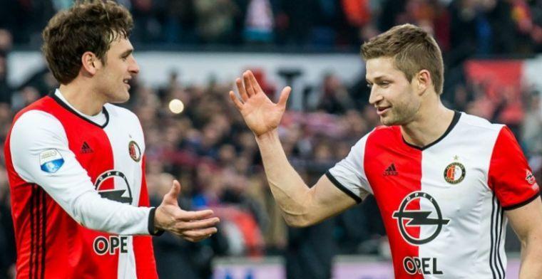 Slecht nieuws voor Feyenoord en Botteghin: verdediger maanden aan de kant