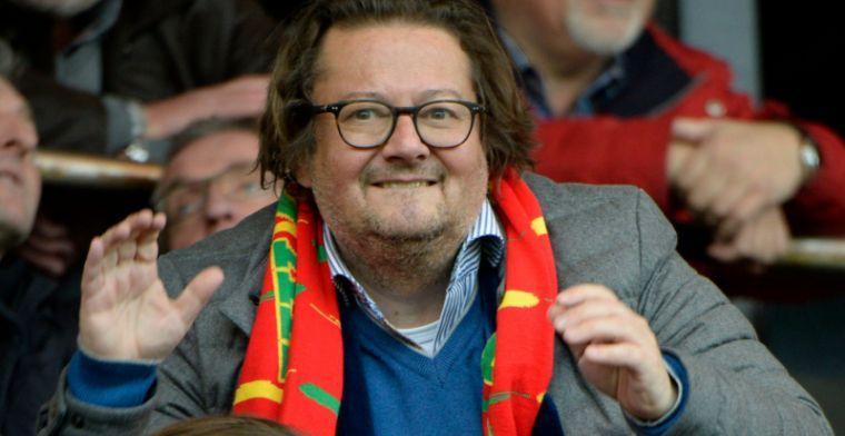 'Coucke lijkt te bezwijken onder druk en contractvoorwaarde'