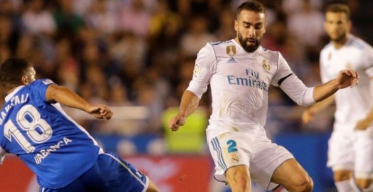 'Real Madrid in de problemen: Carvajal anderhalve maand ...