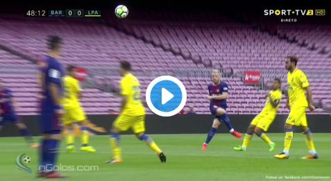 GOAL! Catalaan Busquets scoort voor Barça in spookstadion Camp Nou