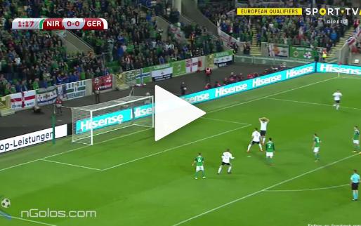 Duitsland na 70 seconden op voorsprong: fenomenale pegel in de kruising