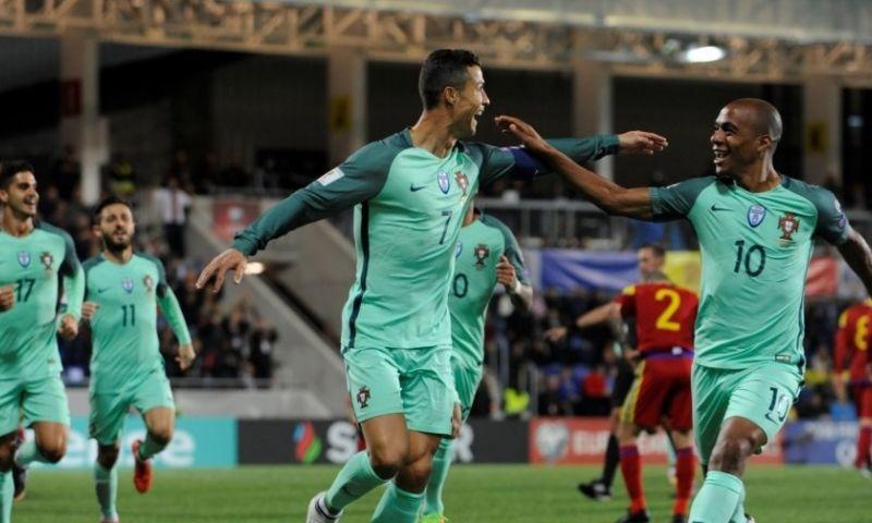 Afbeelding: Foutloos Zwitserland nog stééds niet zeker van WK door doelpunt Ronaldo