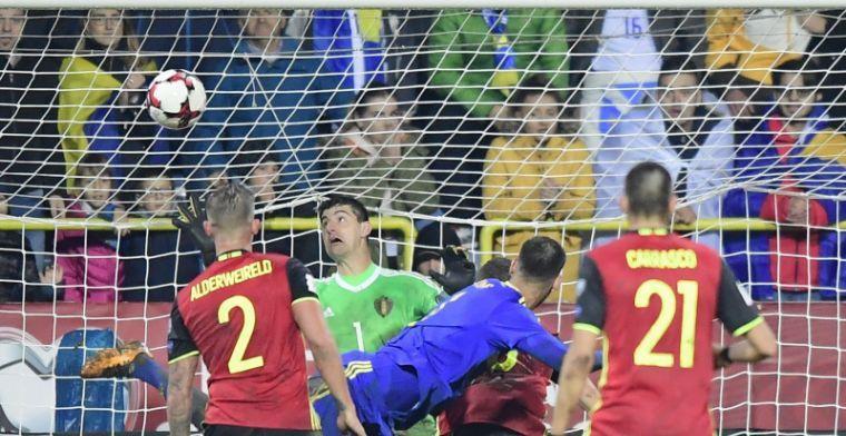 Carrasco geeft kansen Bosnië flinke knauw en redt feestje Vertonghen