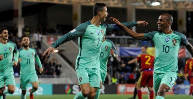 Foutloos Zwitserland nog stééds niet zeker van WK door doelpunt Ronaldo
