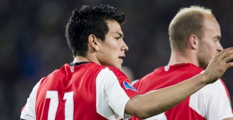 'PSV wil profiteren van Lozano-hype en richt zich op verovering van Mexico'