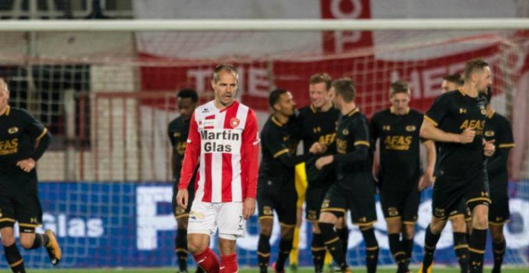 Jong AZ is negen minuten lang te oud: wedstrijd tegen FC Oss moet over