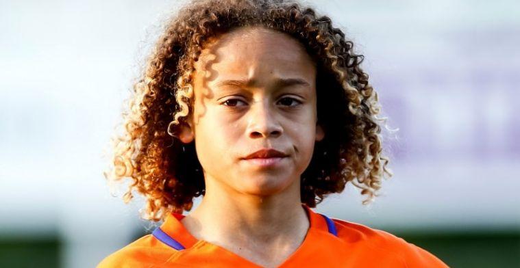 Veertienjarige aanvaller nu al geopperd bij Oranje: Onzettend groot talent