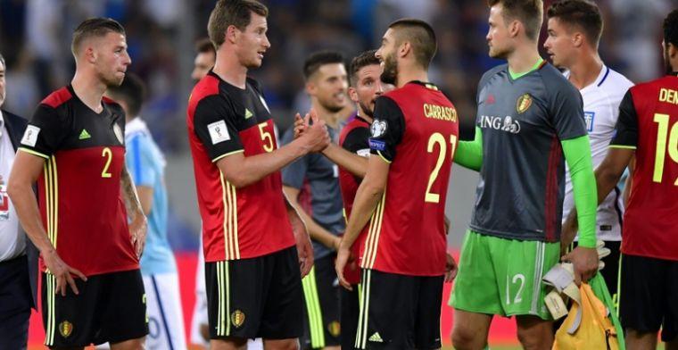 Twee Rode Duivels moeten vrezen voor WK-plek: 'Ze krijgen het moeilijk'