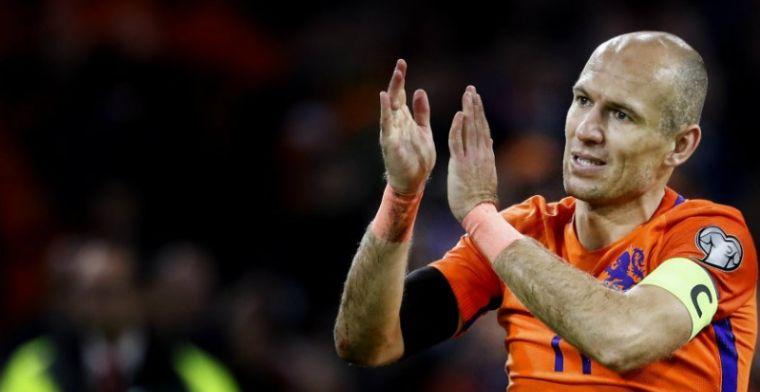 Robben bespreekt Eredivisie-terugkeer: 'De ene keer is het dit, andere keer dat'