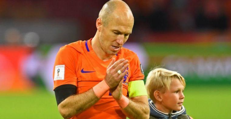 Robben als EK-verrassing: Dan zie ik hem wel weer aansluiten
