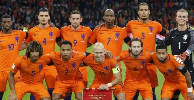 Update: UEFA bevestigt: Oranje bij twaalf toplanden in Nations League