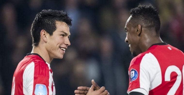 'PSV denkt aan clubrecord en hangt gigantisch prijskaartje om nek van Lozano'