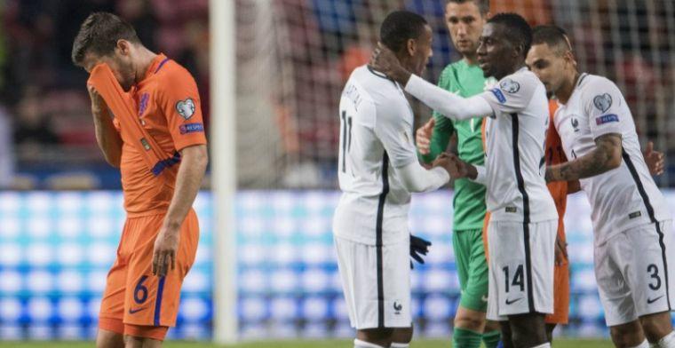 Onbegrip over Oranje in Parijs: 'Als je die spelers niet hebt is dat zelfmoord'
