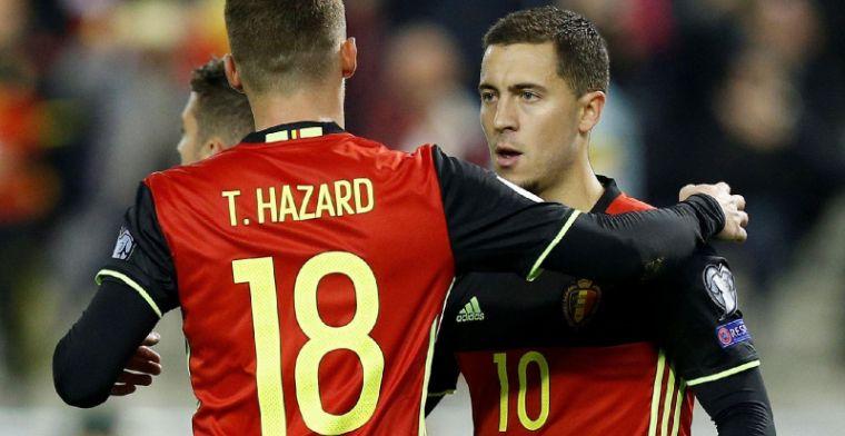 """Familie Hazard door het dolle heen: """"Die goal was het hoogtepunt"""""""
