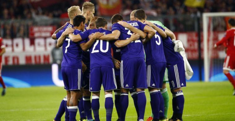 Anderlecht rekent tijd niet meer op sterkhouder: 'Niet terug voor december'