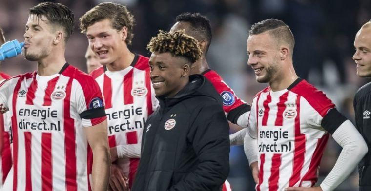 Gerucht uit Engeland: 'wonderkid' van PSV in belangstelling van Spurs en West Ham