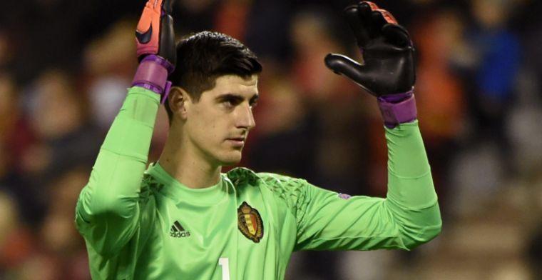 'Atlético wil nog eens shoppen bij Chelsea, Madrilenen dromen van Courtois'