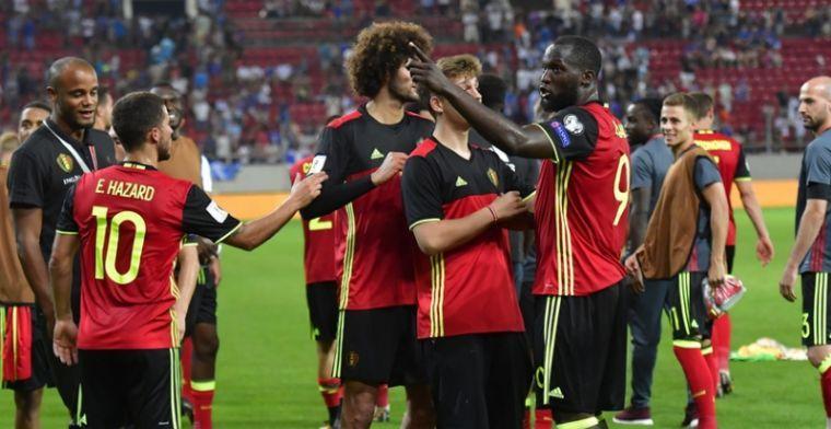 Nieuwe FIFA-ranking: Rode Duivels doen mee met grote jongens