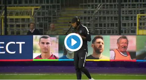 Stress bij PSG voor clash tegen Anderlecht? Alvast niet bij Neymar