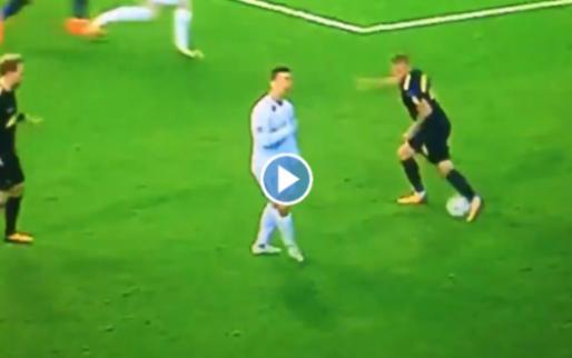 Ronaldo is geen Ronaldinho: no look-pass tegen Spurs mislukt