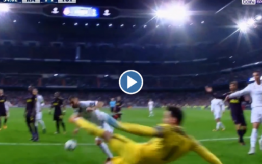 Weergaloze Lloris: geweldige redding op bijna zekere Benzema-goal