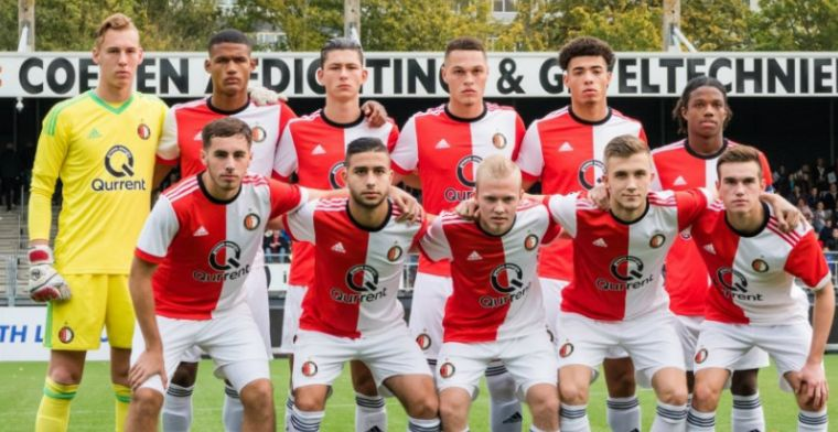 Feyenoord O19 en Vente maken indruk: klinkende zege in Youth League