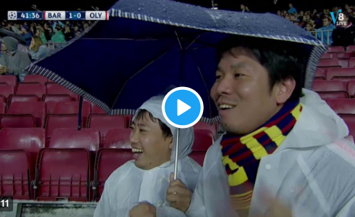 Piqué krijgt rood na afgekeurd doelpunt: Barça-toeristen juichen