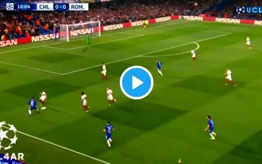 GOAL: Luiz krult heel raak tegen Nainggolan en co