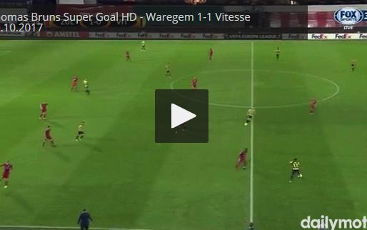 GOAL: Essevee kan niet lang genieten, Vitesse prikt meteen tegen