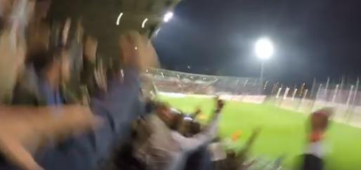Afbeelding: Fans van KV Oostende boos op die van Club Brugge