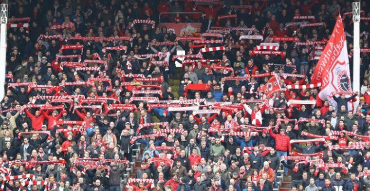 'Antwerp-supporters glippen door de mazen van het net en zitten in thuisvak Club'