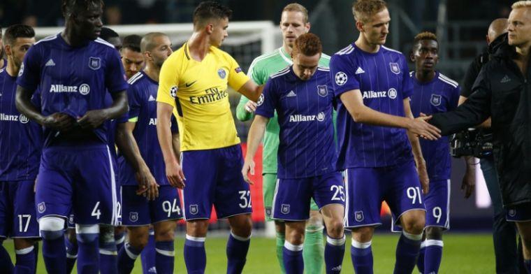 Opvallend: nederlaag voor Anderlecht, maar geen enkele speler gebuisd