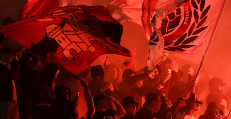 Ongeziene politiemacht én Nederlandse hooligans voor Club - Antwerp
