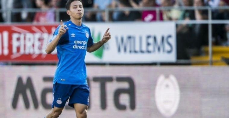 Glunderende PSV-debutant: Ik geloof dat mijn moeder bijna moest huilen haha