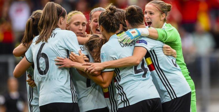 OPSTELLING: Red Flames klaar voor kwalificatieduel tegen Roemenië