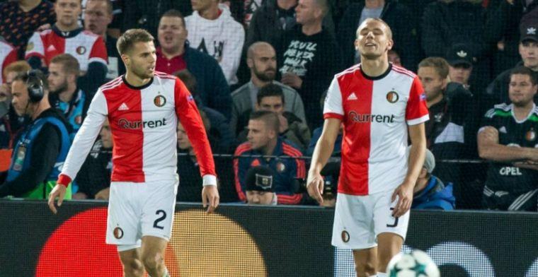 Feyenoord incasseert domper voor Klassieker: wéér verdediger geblesseerd