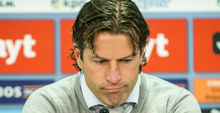 Faber kraakt Groningen-spelers: Ik ga liever verder met jeugdspelers