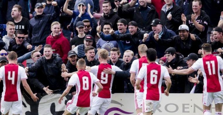 Ajax wint mini-Klassieker met ruime cijfers: Feyenoord afgedroogd op De Toekomst